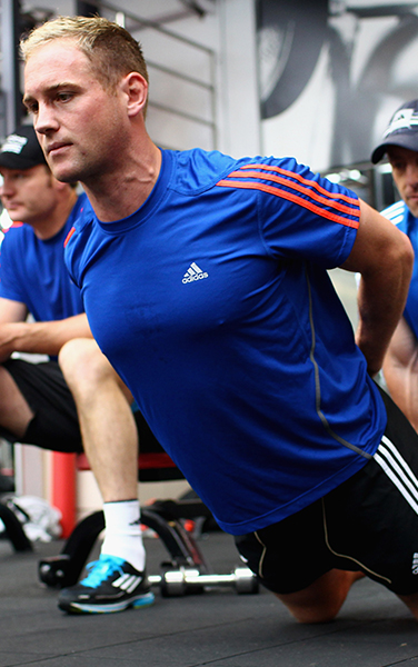 Adidas Nic Gill professional strength conditioning Sports coach NZ